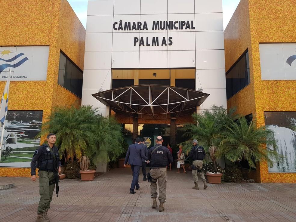 Três vereadores são alvos da operação Jogo Limpo (Foto: Divulgação/Polícia Civil)