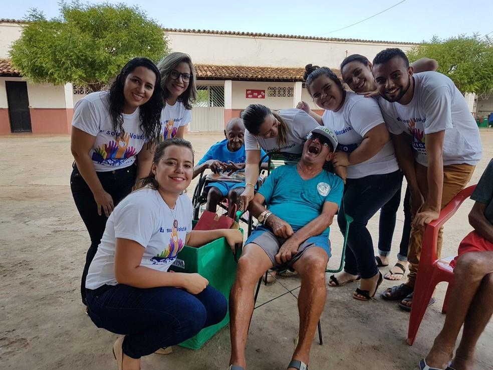 Voluntários dizem que a sensação é de dever cumprido (Foto: Priscilla Santos/ Arquivo pessoal)