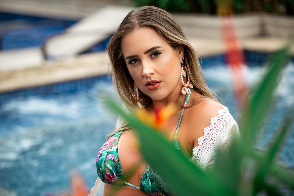 Patrícia Leitte conta que hoje ama malhar e se inspira em Gracyanne Barbosa  — Foto: Fabiano Battaglin/Gshow