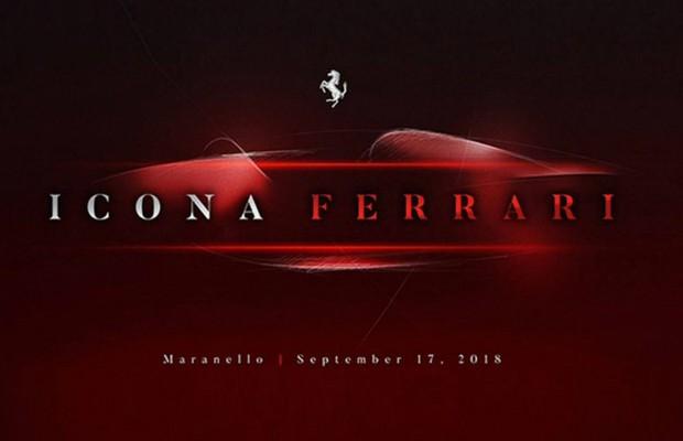Ferrari anuncia possível lançamento de modelo sob o codinome F176 para 17 de setembro (Foto: Reprodução Ferrari)