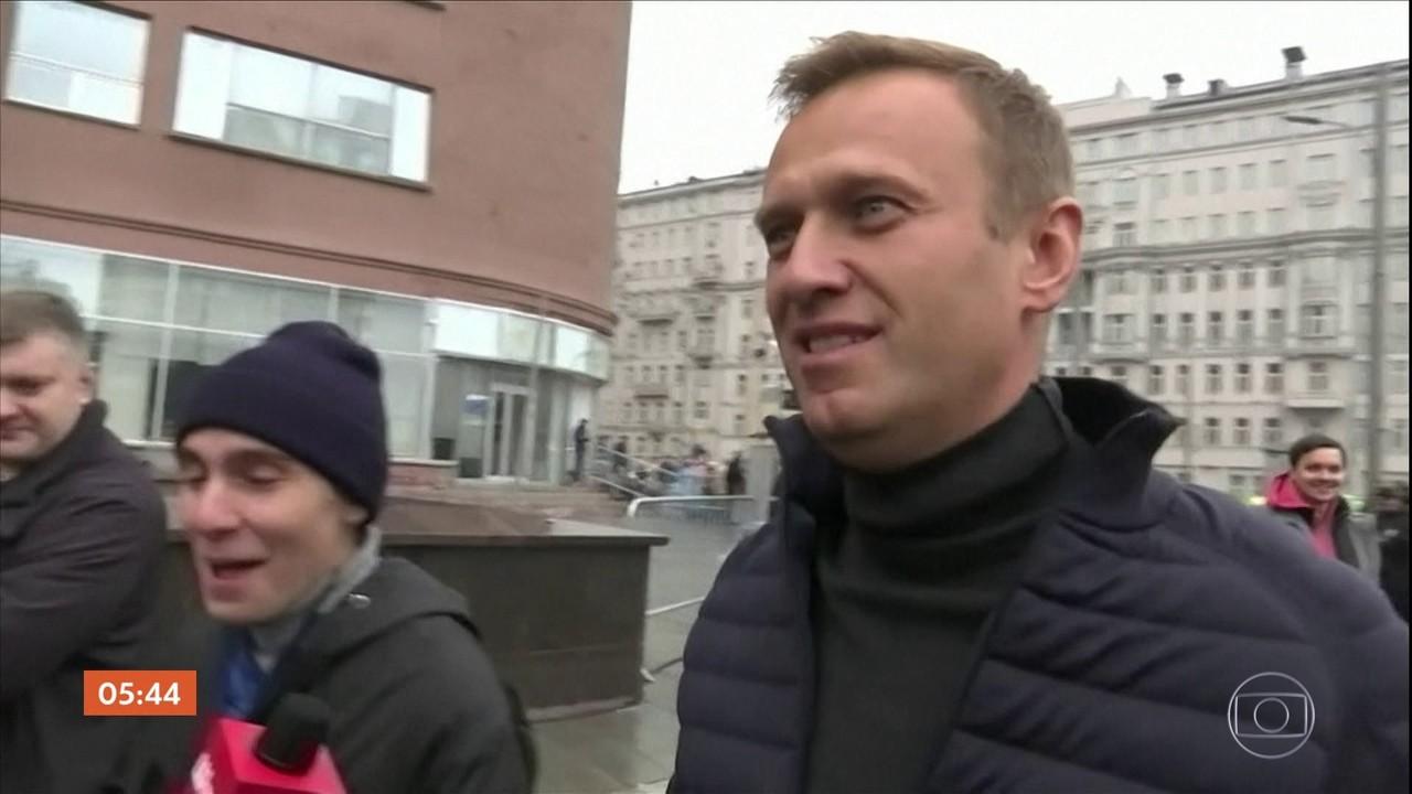 Russo Alexei Navalny é hospitalizado e está inconsciente; porta-voz fala em envenenamento