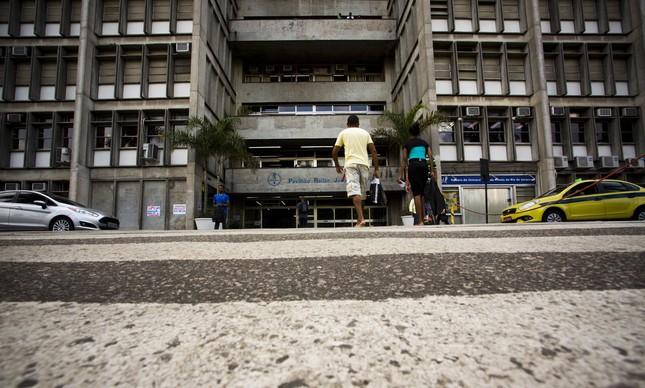 Fachada da Uerj, campus Maracanã