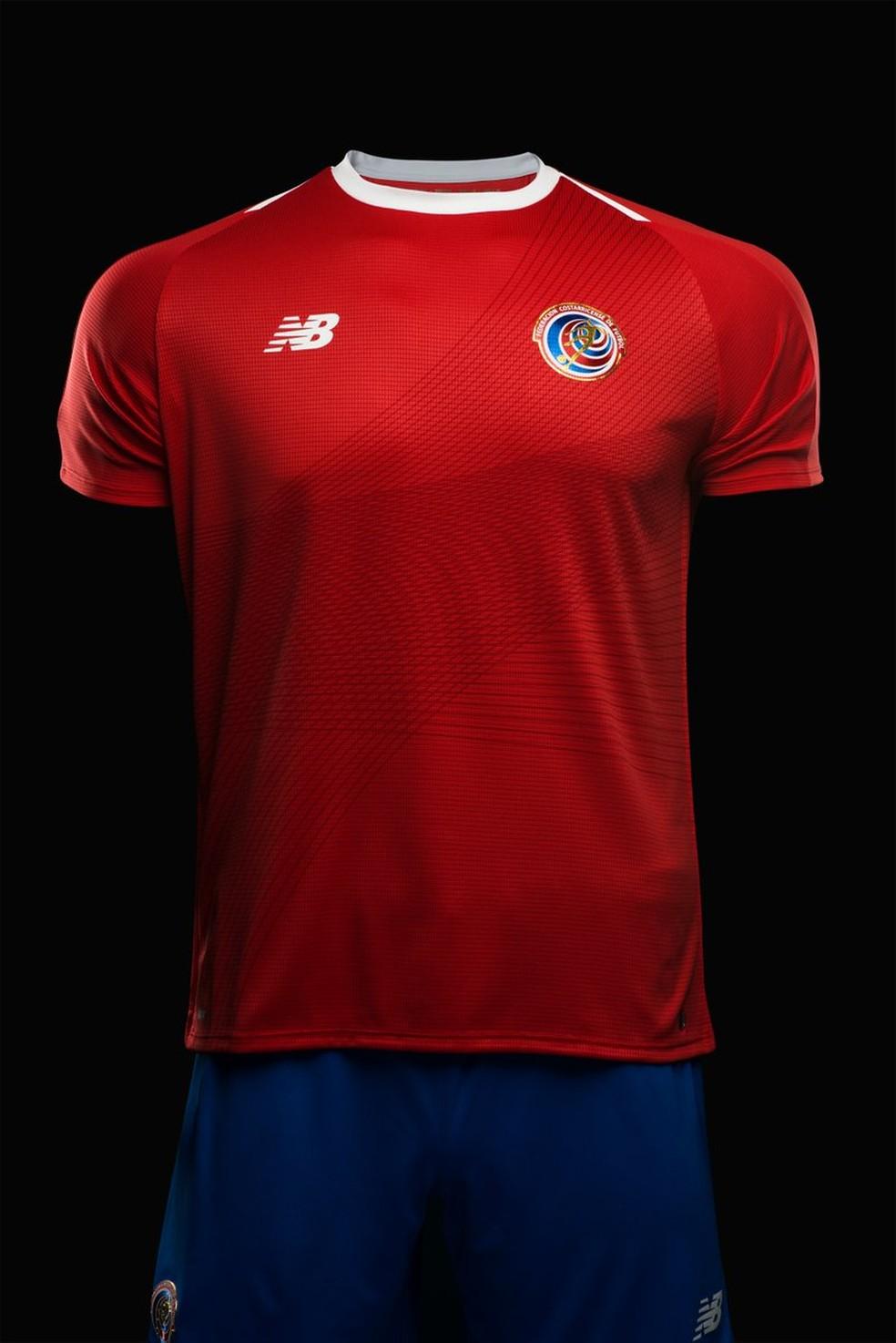 da77f9e6a Novo uniforme da Costa Rica para a Copa divide opiniões
