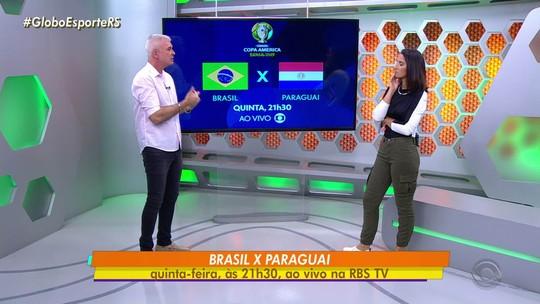 Maurício Saraiva avalia o Paraguai, próximo adversário do Brasil