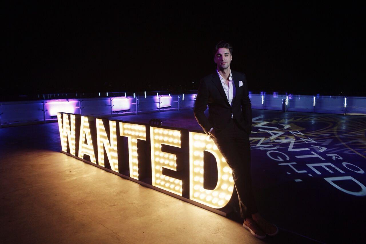 O modelo norueguês Nikolai Danielsen na festa de lançamento do Azzaro Wanted By Night em São Paulo (Foto: Danilo Quadros)