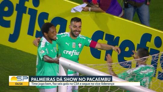Palmeiras dá show no Pacaembu e São Paulo troca de técnico