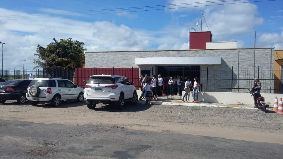 Julgamento aconteceu no fórum da cidade de Santo Antônio (Foto: Sérgio Henrique Santos/Inter TV Cabugi)