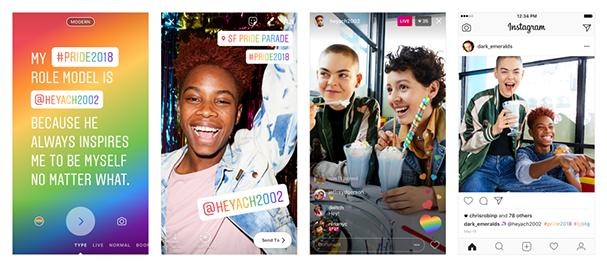 Novidades do Instagram celebram Orgulho LGBTQ+ (Foto: Divulgação)