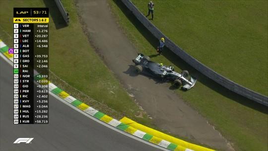 Sem chefe presente ao Brasil, Mercedes tem seu pior resultado desde a corrida da Alemanha