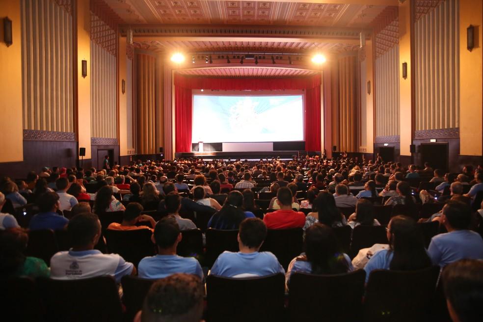 Mostras ocorrem entre os dias 4 a 10 de agosto, no Cineteatro São Luiz. (Foto: Rogerio Resende/Divulgação)