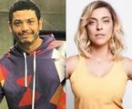Rafael Queiroga e Julia Rabello | Reprodução