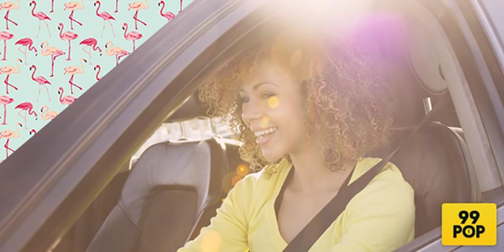 Caso objeto seja esquecido no carro, motorista poderá ser contatado através do app — Foto: Divulgação/99