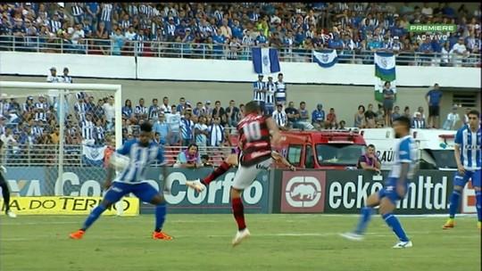 Tranquilo, Lucas Frigeri agarra chance no CSA, se firma no gol e projeta jogos finais