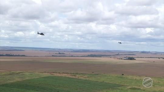 Operação Rotores do Oeste prepara aviação do Exército para atuar na área de fronteira