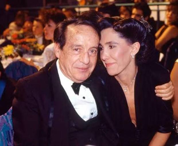 Florinda Meza e Roberto Bolaños (Foto: Reprodução / Twitter)