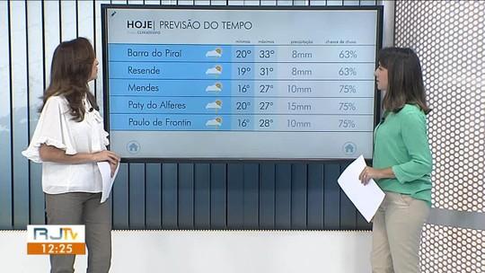 Quarta-feira será de sol entre nuvens no Sul do Rio