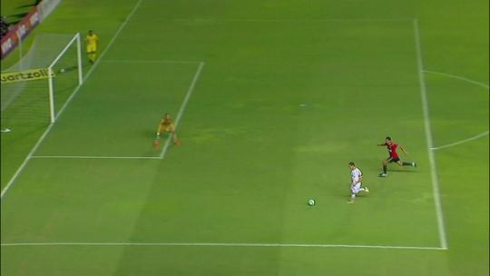 Assista aos melhores momentos do empate do Santos contra o Sport