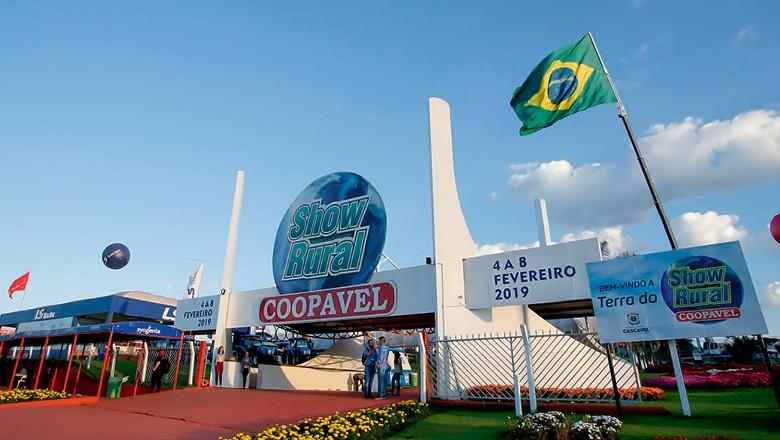 Show Rural, mostra realizada no início de fevereiro em Cascavel (PR), que movimentou R$ 2 bilhões, é um termômetro de como será o ano (Foto: Divulgação)