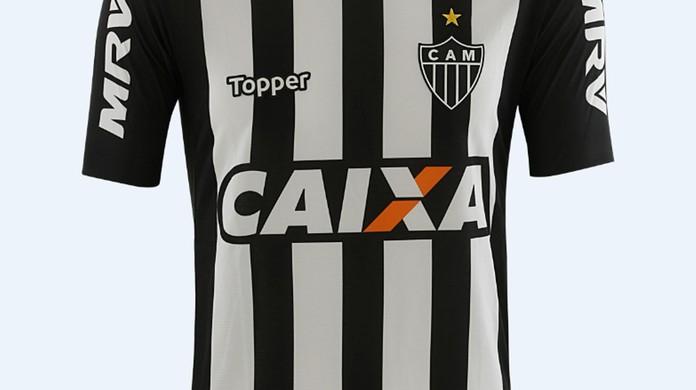 Atlético-MG apresenta camisa para a temporada 2018  estreia será domingo  94ce3019f77bd