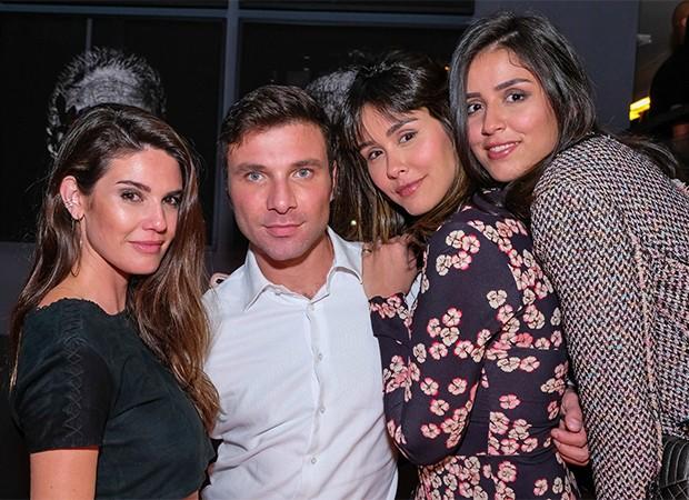 Ana Gequelin, Diego Rodrigues, Lisa Ouakine e Fernanda Lima (Foto: Gustavo Borges/ Divulgação)