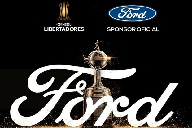 Patrocínio Ford Libertadores  (Foto: Divulgação )