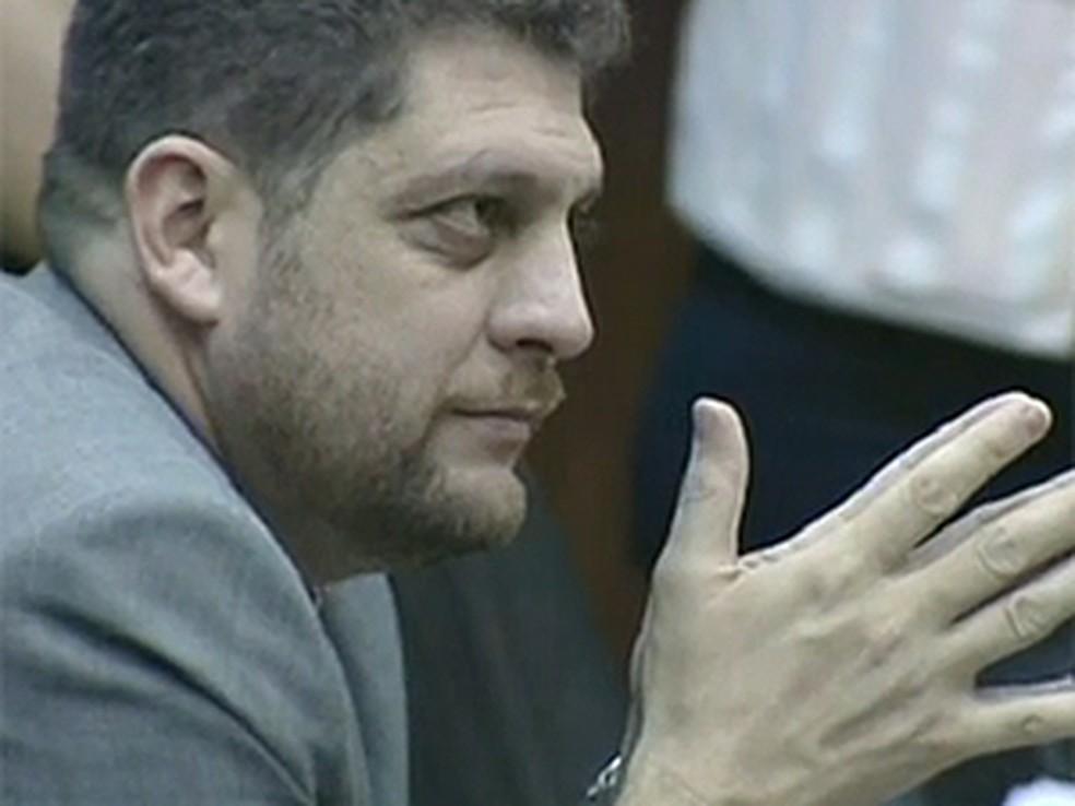 Ex-deputado distrital Junior Brunelli — Foto: Reprodução/TV Globo