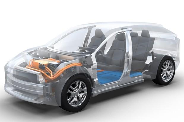 SUV elétrico Toyota-Subaru (Foto:  Divulgação)