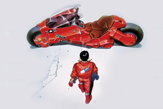 Moto do Kaneda tem estilo de superscooter e tornou-se símbolo de Akira (Foto: Divulgação)