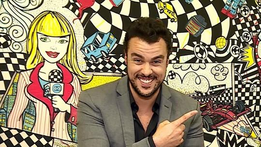 Joaquim Lopes revela que nunca imaginou ser apresentador: 'Descobri um grande amor'
