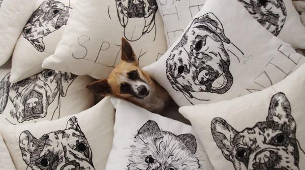Hyla Frank borda desde criança e se especializou na criação de produtos com a cara de pets (Foto: Reprodução/Instagram)