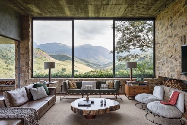 Conheça a casa nas montanhas do ator Ricardo Tozzi (Foto: Fran Parente)