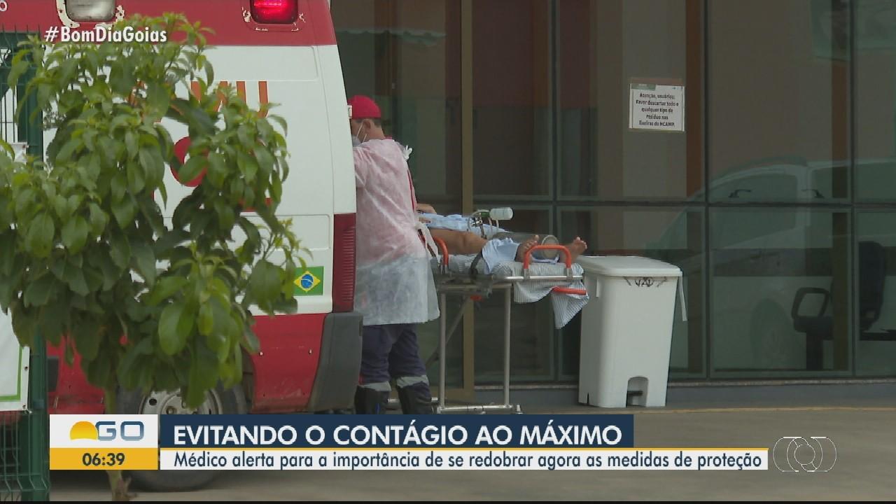 Infectologista fala sobre consequências de não levar medidas de isolento a sério em Goiás