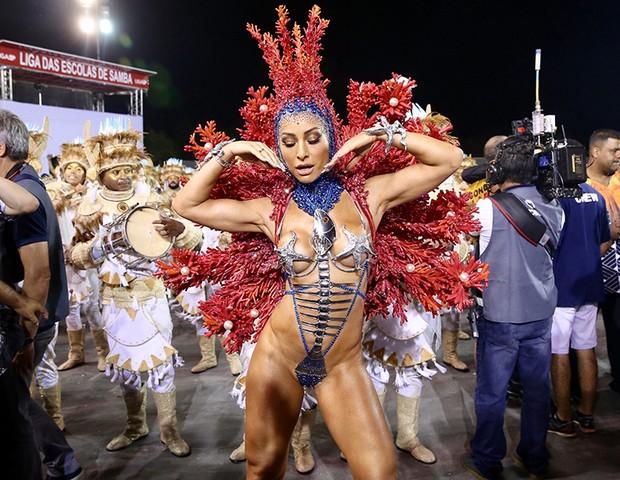Sabrina Sato, madrinha da Gaviões da Fiel (Foto: Manuela Scarpa/ Brazil News)