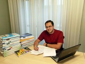 Kaique Knothe de Andrade somente estudou por 10 meses para concurso da Receita Federal (Foto: Arquivo Pessoal/ Kaique Knothe de Andrade)