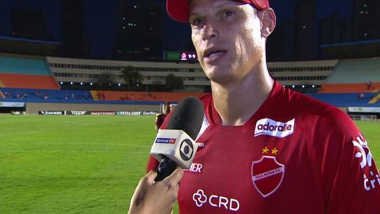 Jussani lamenta empate e pede que Vila Nova melhore o rendimento em casa rapidamente