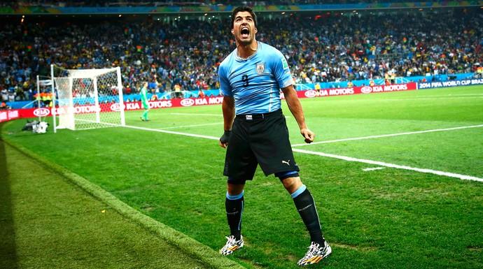 [COPA 2014]Gols, lágrimas e festa: Suárez brilha  na vitória Celeste sobre a Inglaterra