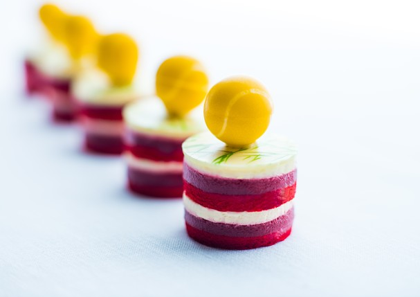 Doce criado pelo chef Henry Brodi, para o Torneio de Wimblendon (Foto: Divulgação)