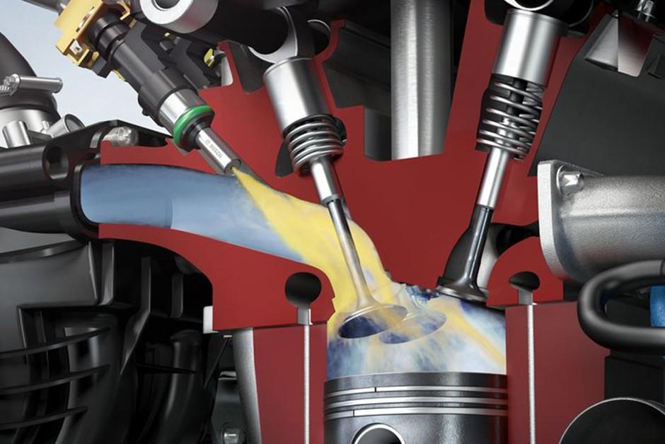 Injeção eletrônica convencional injeta o combustível no coletor de admissão (Foto: Divulgação)