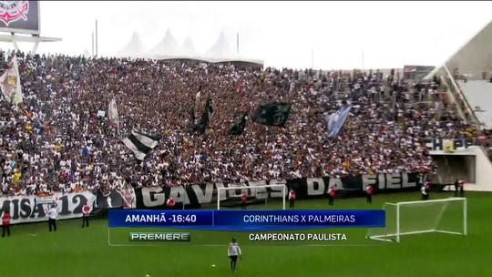 Em treino aberto, Corinthians recebe grande público antes de clássico contra o Palmeiras