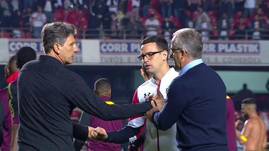 Muricy aposta em Dorival para tirar o São Paulo do Z-4 e elogia Hernanes
