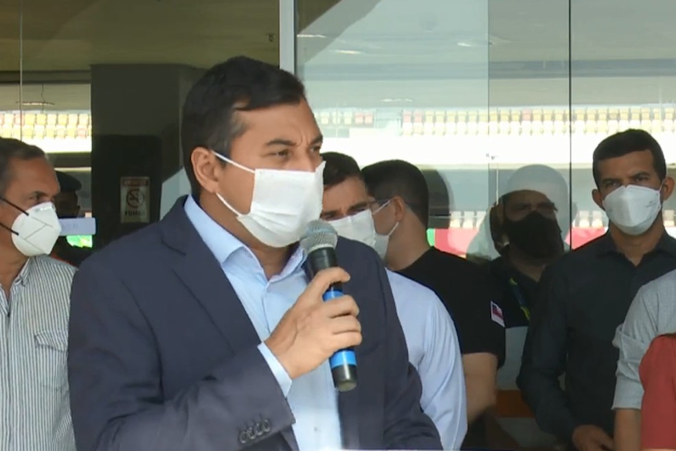 Governador do Amazonas, Wilson Lima — Foto: Reprodução