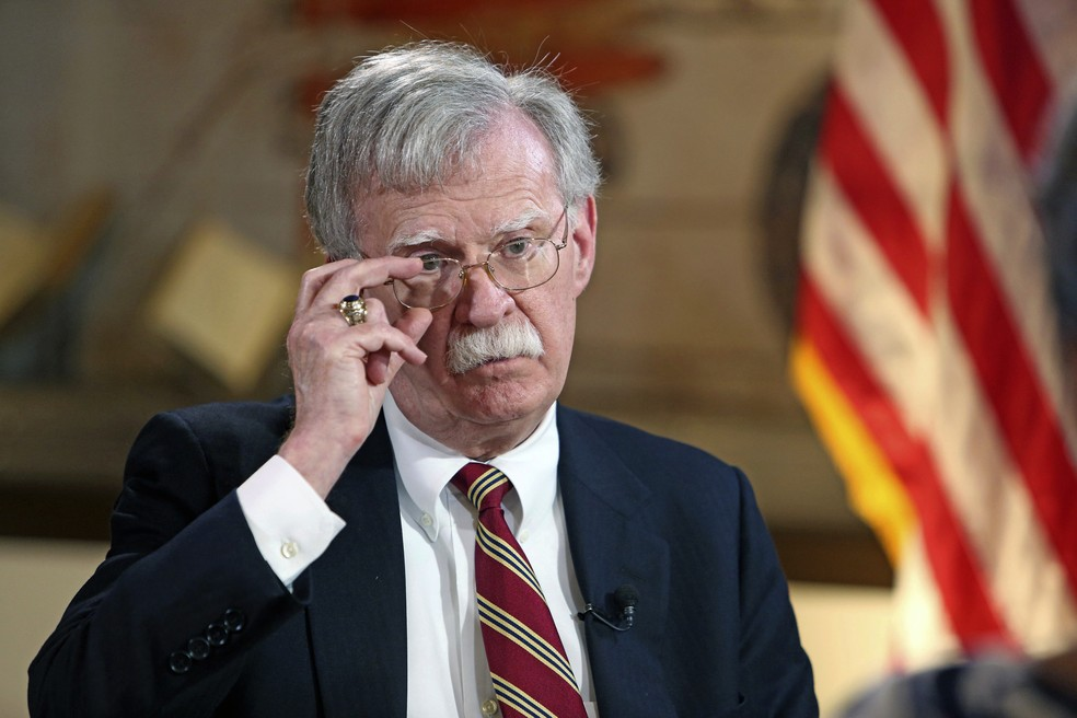 John Bolton — Foto: Emily Michot / Miami Herald / via AP Photo