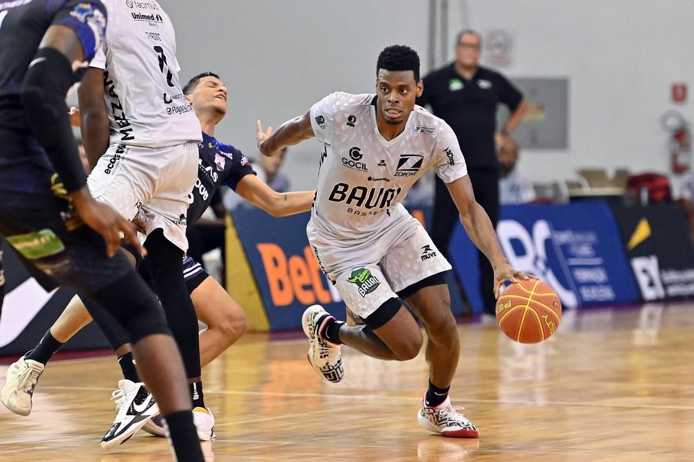 Gui Deodato foi um dos principais nomes do Bauru na última temporada do NBB — Foto: João Pires