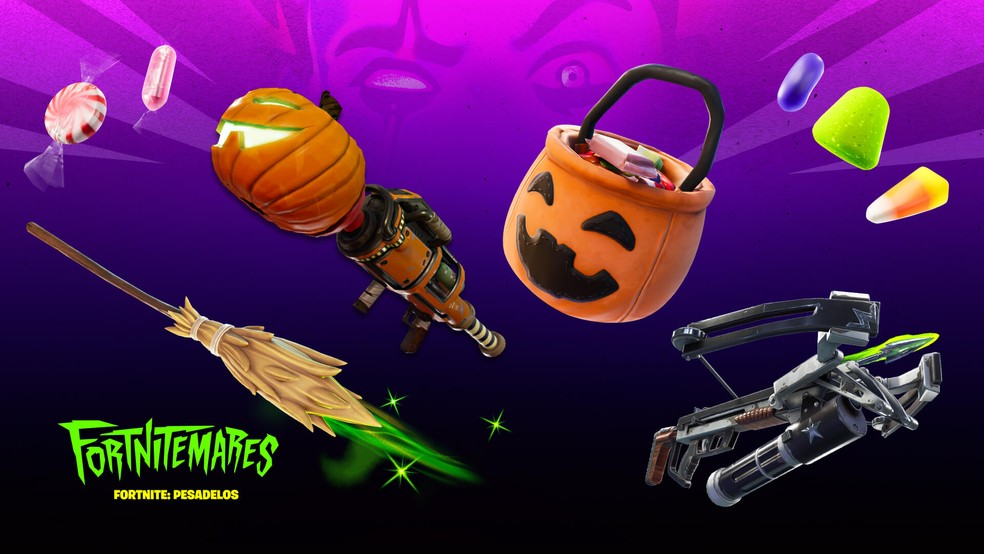 Fortnite: Weapons, Items and Cosmetics Fortnitemares 2020