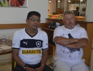 Craques da fase de ouro do Botafogo se reúnem, em encontro no Amapá (Foto: Wellington Costa/GE-AP)