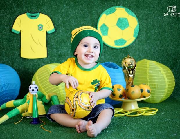 Ensaio Copa do Mundo (Foto: Reprodução Instagram/Fabiana Perlucio)