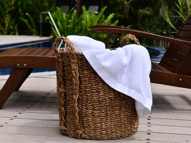 A toalha revela leveza e maciez (Foto: Divulgação)