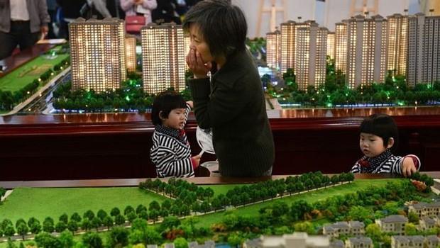 China - imóveis (Foto: Getty Images via BBC News)