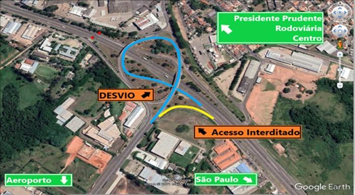 Alça de saída da Rodovia Raposo Tavares para a SP-425 é fechada para manutenção nesta sexta-feira