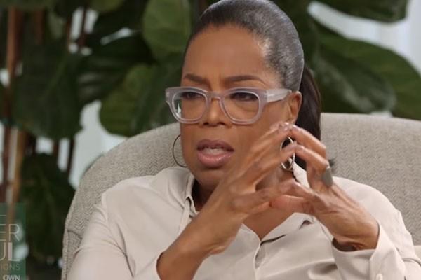Amy foi entrevistada por Oprah Winfrey (Foto: Reprodução/YouTube)